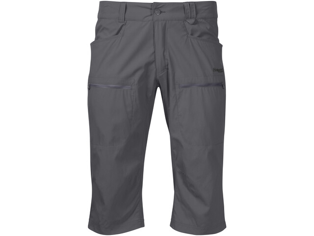 Bergans Utne Pirate Pantalones Hombre, solid dark grey/solid charcoal